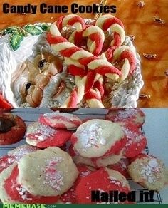 26. Candy Cane Cookies
