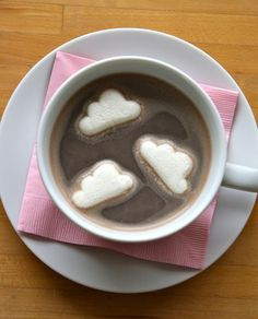 Clouds in My Cocoa by thefarmchicks.typepad.com #Clouds #Cocoa #thefarmchicks_typepad_com