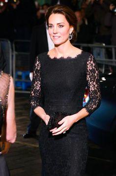 hrhroyalty: Royal Variety Performance, November 13, 2014-Duchess of Cambridge