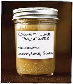 Coconut Lime Preserves | SAVEUR