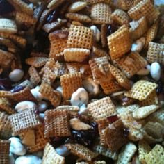 Cranberry Almond Chex Mix :)