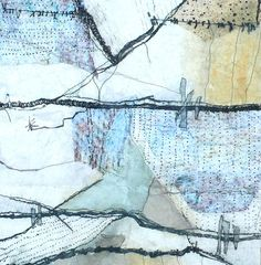 Shelley Rhodes -- Etching on fabric