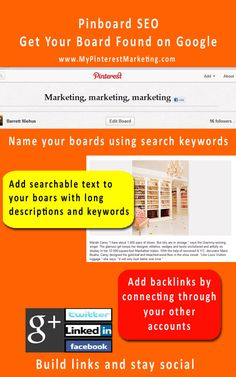 Pinboard SEO Get Your Board Found on Google