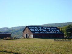 Grainger Co Rock City barn