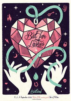 25 inspiring gig posters  http://www.creativebloq.com/design/inspiring-gig-posters-1212720