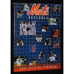 Mets Baseball 2004 Official Yearbook (Paperback)