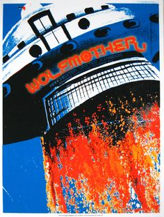 """Lonny Hurley """"Wolfmother"""" Poster"""