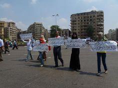 Manifestation au Caire