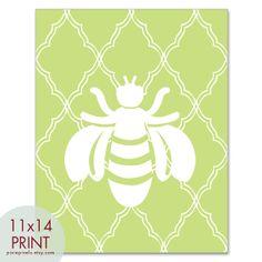 honey bee artwork