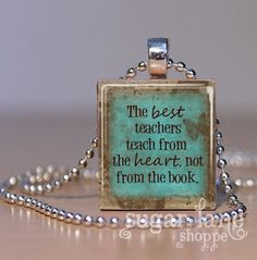 Teachers gift.