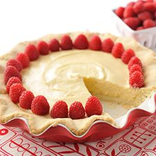 Gluten-free Cheesecake - Creamy cheesecake filling with a tender, buttery pie crust.