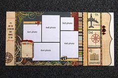 5 photos - Simple Stories paper