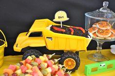 dump truck dirt cake!