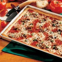 Maybe the best pizza sauce we've ever had...and it freezes well, too. Recipe contest winner.