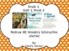 McGraw Hill Wonders 2nd Grade FREEBIE!