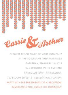 #Wedding #Invitation #Hearts Invitation Invitation Invitation