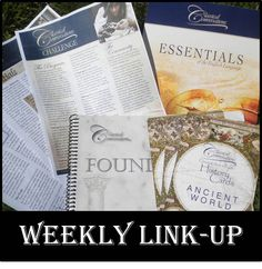Classical Conversations Cycle 1 Weekly Link-up: Sharing CC ideas week-by-week