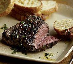 Lemon Rosemary Lamb Steaks--