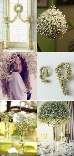 Beautiful use of baby's breath
