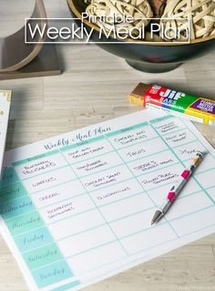 Free Printable Weekl