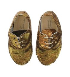 glitter shoes, penni, kid, gold shoes