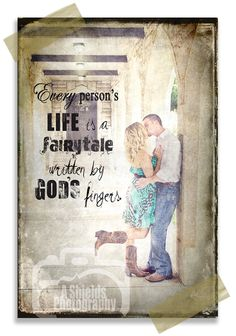 A Shields Photography - Couple & Quote