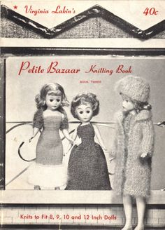 Dress-Up Dolls Fit To Be Knit