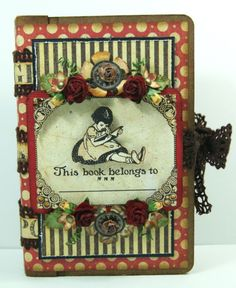 In love with this An ABC Primer mini created by Andrew Roberts! Wow! #graphic45 #minialbums