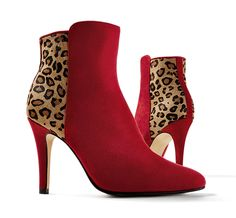 The wild called. We answered it with leopard trim and sophisticated heels.