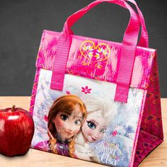 Zak Designs Frozen Insulated Lunch Tote - Elsa and Anna