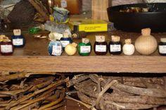 Wood Bead Crocks