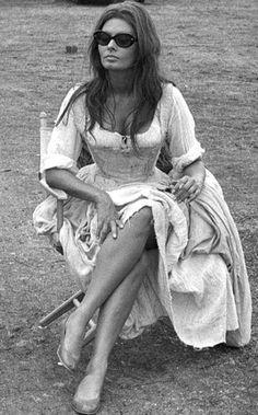Sophia Loren photographed by Angelo Frontoni, 1967