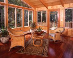Sunrooms On Pinterest Sunroom Cedar Homes And Room