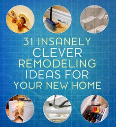 31 Insanely Smart Home Remodeling Ideas - http://diyideas4home.com/2014/01/31-insanely-smart-home-remodeling-ideas/