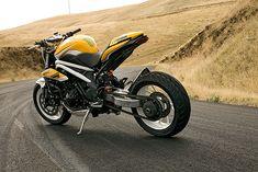 Triumph Speed Triple drift bike by Icon
