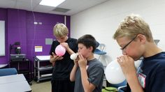 Propelling rockets with air in Rocket Science: Destinations Beyond Earth (entering grades 5-9), June 23-26