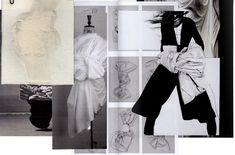 Fashion Sketchbook - draping research & fashion design development; fashion portfolio layout // Rachel Raheja