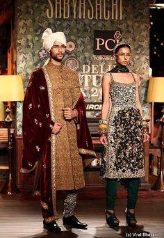 Sabyasachi Mukherjee at Delhi Couture Week 2012