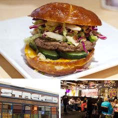 Custom-build your own burger on an iPad at Stacked in SD