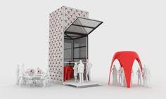 kamermak, 3d printer, print architectur, mobil, 3dprinter, printer pavilion, prints, entir room, dus architect