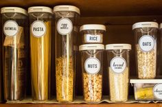Free Pantry Labels. Download and organize your Pantry..