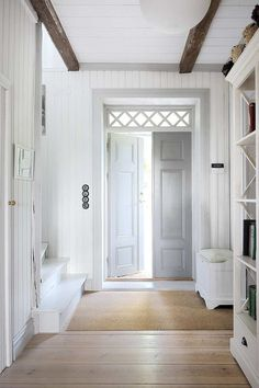 entry. love the transom window....