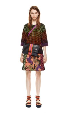 #MMissoni | Mesh Effect Over-Top & Jacquard Skirt | Spring 2014 Collection