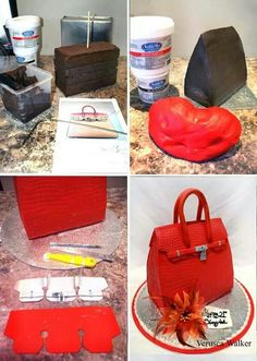 cake tutori, handbag cakes, cake design
