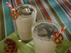 Black and White Stout Milkshake