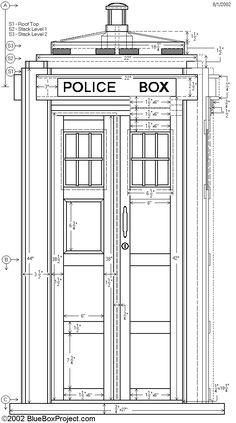 Build your own Tardis! repin by #dazehub #daze #geeks