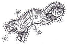 aboriginal cat tattoo