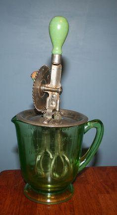 vaseline glassware