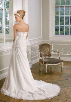 wedding dress wedding dresses wedding dressses, ruffl, dresses, dress wedding, sweetheart flow, chiffon sweetheart, gown, eleg chiffon, flower