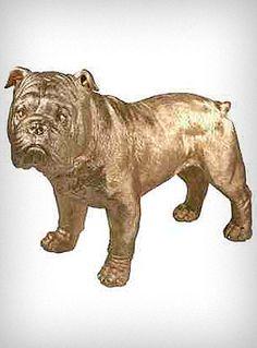 Gilded Bulldog Statue $46.00